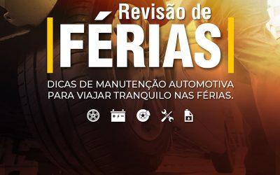 REVISÃO DE FÉRIAS: Itens para conferir no carro antes de viajar.